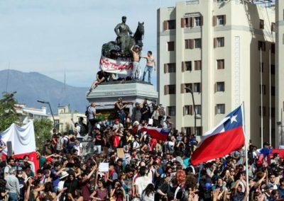 Solidaridad con el levantamiento popular en Chile