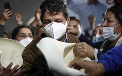 La irrupción de Pedro Castillo en las elecciones peruanas