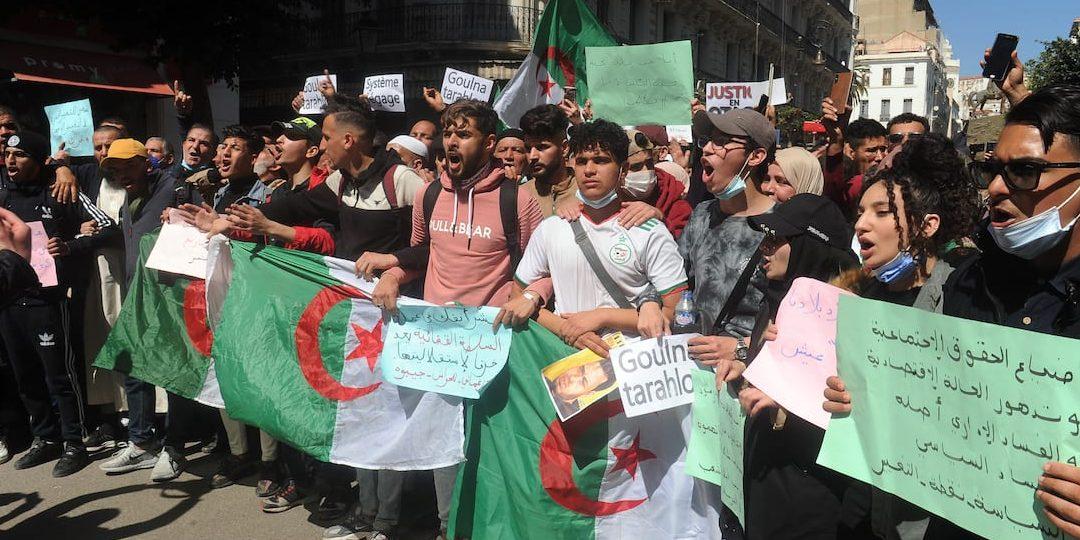 ¡Basta de represión en Argelia!