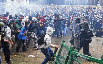 Colombia. El levantamiento del 28 de Abril. Una indagación sobre las nuevas formas de la protesta popular urbana